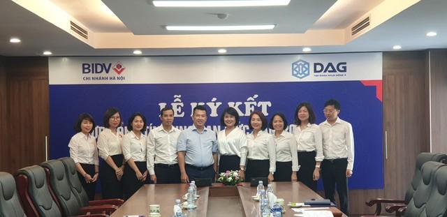 Bước tiến thúc đẩy quan hệ hợp tác chiến lược DAG - BIDV - Ảnh 1.