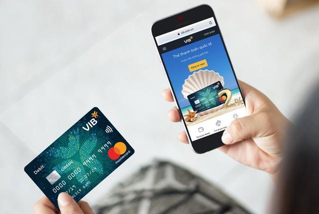 MasterCard hợp tác ngân hàng VIB tăng bảo mật thẻ - Ảnh 1.