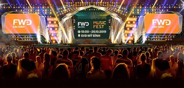 FWD Music Fest đã trở lại và lợi hại hơn xưa với quy mô 30.000 khán giả - Ảnh 1.