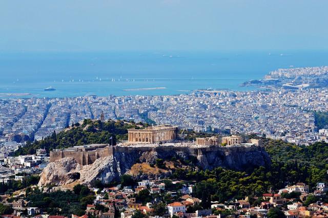 """""""Đảo trường sinh"""" ở Hy Lạp - Ảnh 1."""