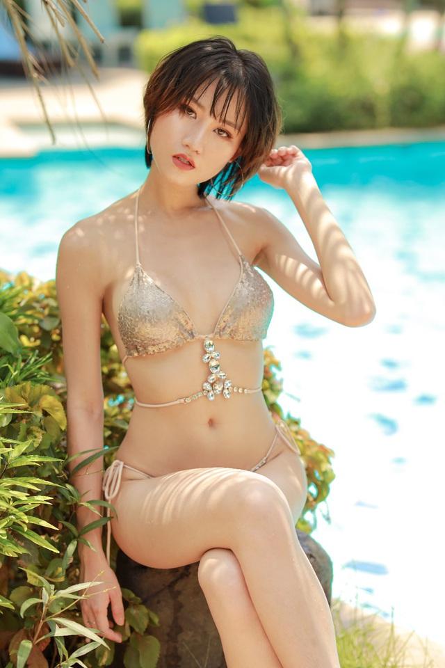 Hoa hậu Du lịch Phạm Lan Anh sống hết mình với ước mơ - Ảnh 2.