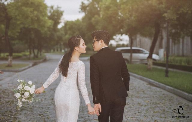 Bộ ảnh cưới siêu hot của Kiếm thủ Lê Minh Hằng - Em gái quốc dân làng thể thao Việt Nam - Ảnh 9.