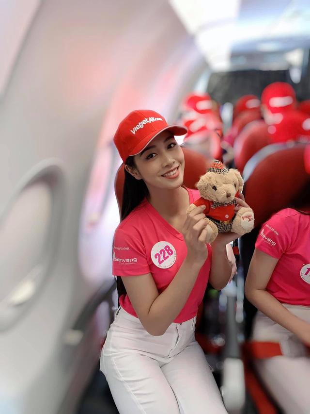 Vẻ ngoài xinh đẹp của nữ tiếp viên hàng không vào chung kết HHVN 2020 - Ảnh 5.