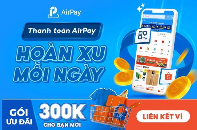 """Đón """"mưa ưu đãi"""" nhờ liên kết tài khoản/thẻ nội địa HDBank vào ví AirPay! - Ảnh 2."""