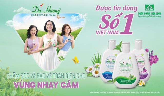 Nhất quán triết lý, hơn 10 năm Dạ Hương giữ vững vị trí số 1 được tin dùng thị trường Dung dịch vệ sinh phụ пữ tại Việt Nam - Ảnh 3.