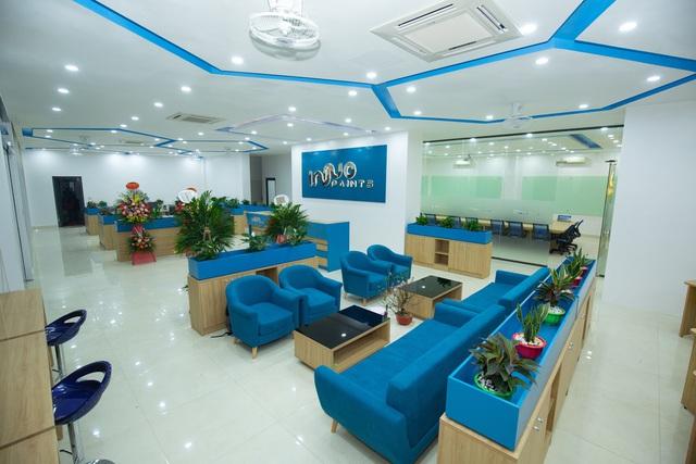 Khám phá mô hình văn phòng - nhà máy tiêu chuẩn quốc tế của tập đoàn Sơn Inno Paints - Ảnh 2.