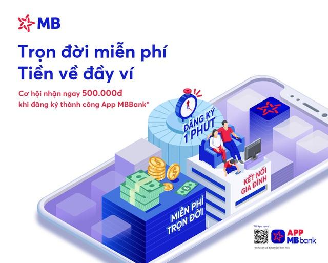 MB ra mắt App MBBank phiên bản mới với tổng giá trị ưu đãi lên đến 2 tỷ đồng - Ảnh 1.