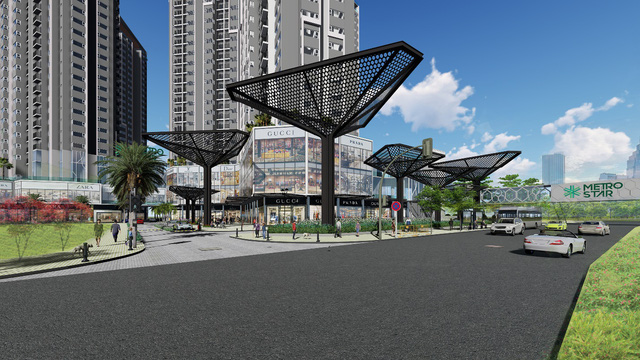 Shophouse kết nối trực tiếp ga Metro: Đỉnh cao mới của đầu tư - Ảnh 2.