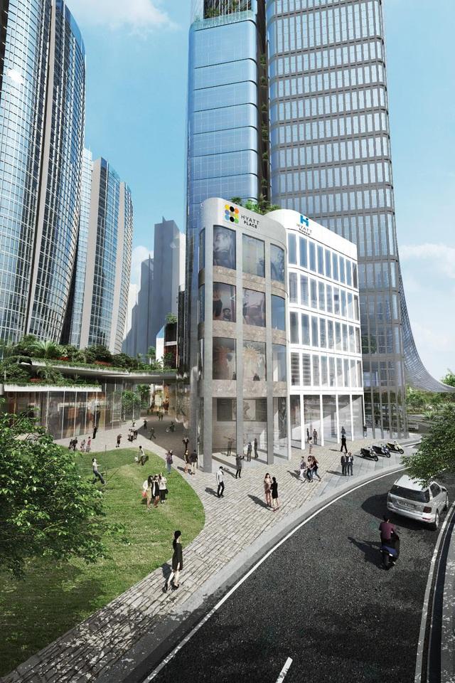 Thêm một công trình siêu cao tầng tại thành phố Hồ Chí Minh - Ảnh 2.