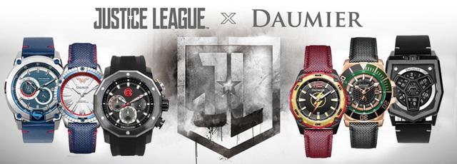 Đồng hồ Justice League phiên bản giới hạn đã có mặt tại Thế Giới Di Động - Ảnh 1.
