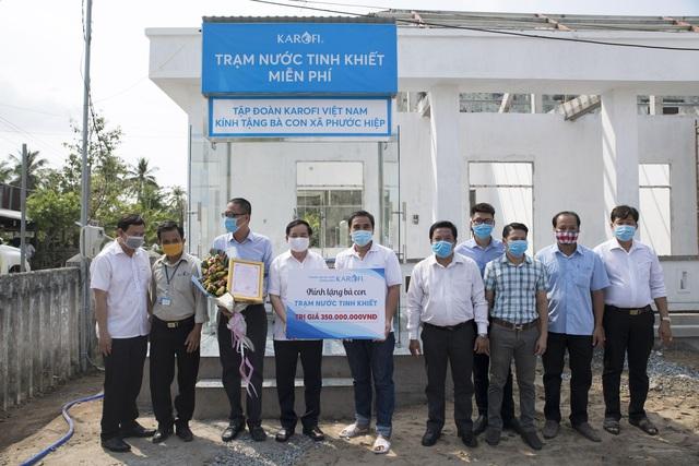 Karofi kích hoạt gói tài trợ 10 tỷ cùng cả nước đối phó dịch bệnh, hạn mặn - Ảnh 2.