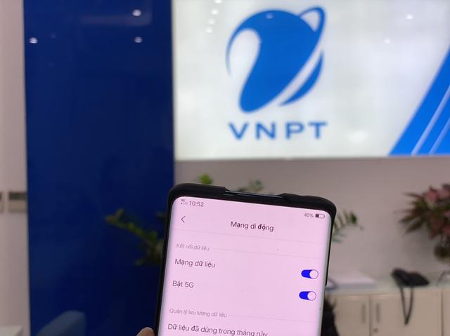 VNPT thử nghiệm thành công mạng VinaPhone 5G phục vụ thương mại - Ảnh 1.