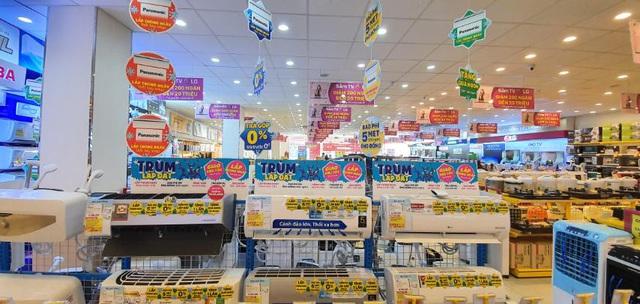 'Sáng mua - chiều lắp' và 4 ưu đãi 'siêu ngon' trong mùa nóng của Điện Máy Xanh - Ảnh 1.