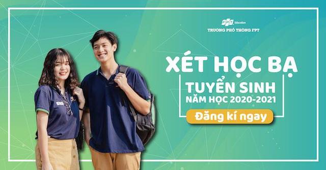 THPT FPT Hà Nội thông báo phương án tuyển sinh lớp 10 năm 2020 - Ảnh 1.
