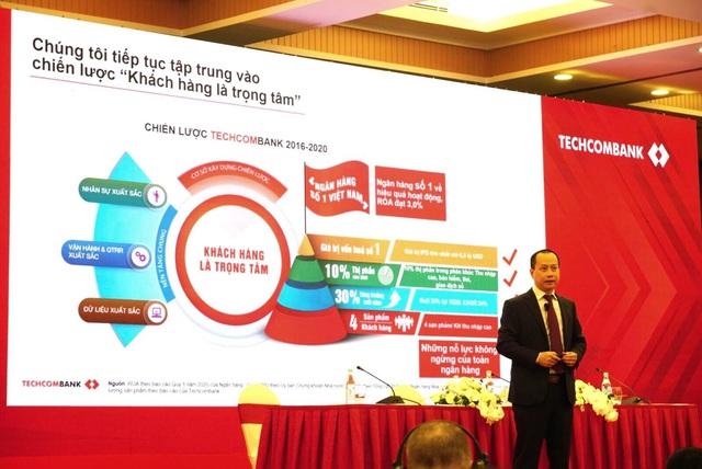 Techcombank tiếp tục tập trung nguồn lực đầu tư xây dựng năng lực nền tảng và tạo đà tăng trưởng mạnh mẽ - Ảnh 1.