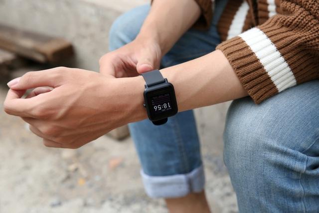 Thế Giới Di Động chơi lớn giảm giá 20% smartwatch Huami Amazfit, đã rẻ nay còn rẻ hơn - Ảnh 1.