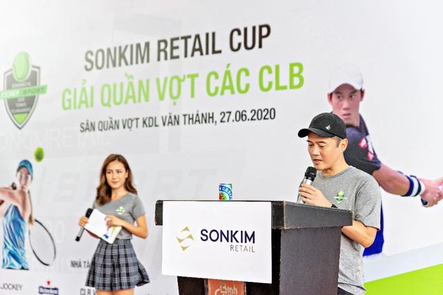 Sơn Kim Retail tổ chức giải quần vợt dành cho doanh nhân - Ảnh 1.
