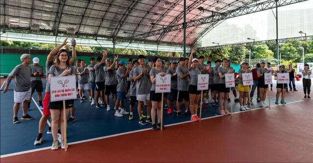 Sơn Kim Retail tổ chức giải quần vợt dành cho doanh nhân - Ảnh 2.