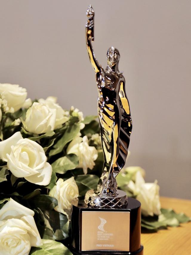 FWD tự hào nhận giải thưởng môi trường làm việc tốt nhất châu Á - Ảnh 1.