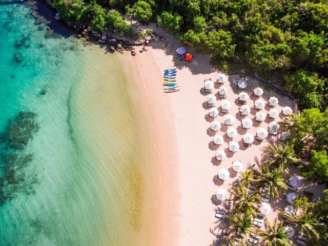 Những điểm check - in đẹp không kém Maldives tại vịnh Đầm Bấy – Nha Trang - Ảnh 2.