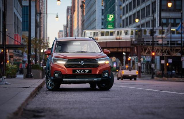 Lộ diện Suzuki XL7 hoàn toàn mới: Hứa hẹn soán ngôi vương trong phân khúc SUV 7 chỗ - Ảnh 1.