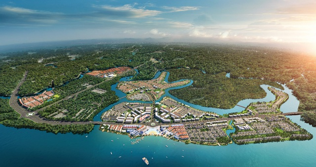 """River Park 1 đô thị Aqua City: Giải """"cơn khát"""" nhà phố sinh thái diện tích vừa phải - Ảnh 1."""