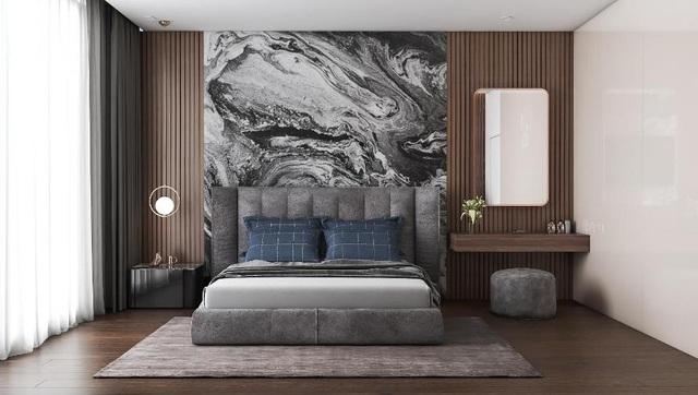 Ngắm thiết kế nội thất biệt thự phòng ngủ hiện đại, cá tính - Ảnh 1.