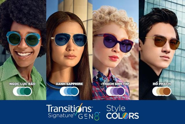 Kính đổi màu Transitions® Signature® Gen 8™ thế hệ mới của Essilor - Phong cách thời thượng - Ảnh 2.