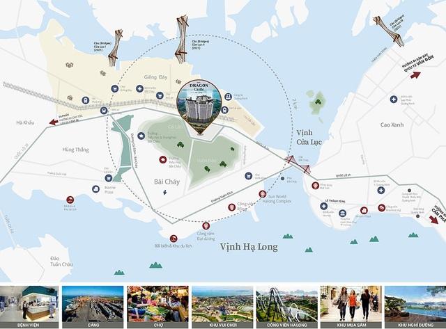 Dự án DC Hạ Long nằm trong khu vực phát triển mới của thành phố - Ảnh 2.