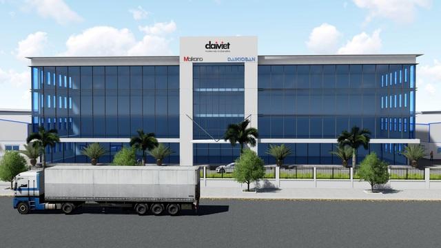 Daikiosan, Makano đầu tư 700 tỷ xây nhà máy rộng 62,000 m² bậc nhất Đông Nam Á - Ảnh 2.