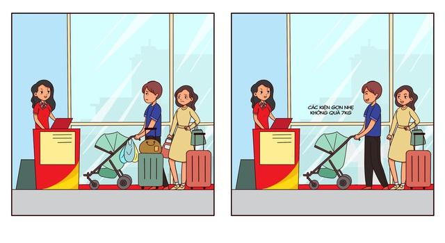 Đi máy bay mãi rồi nhưng thi thoảng lại lấn cấn về hành lý xách tay, bạn sẽ cần bỏ túi ngay 6 quy tắc căn bản - Ảnh 1.