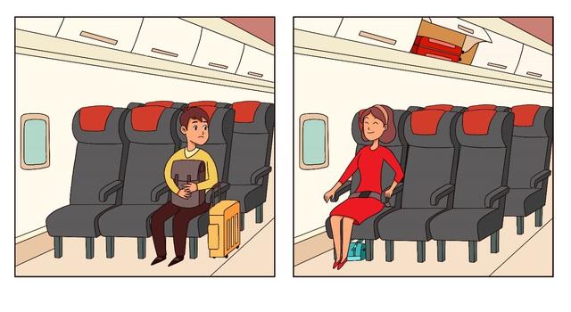Sau khi đặt để hành lý đúng nơi quy định, bạn có thể an tâm duỗi chân ngồi nghỉ ngơi và tận hưởng chuyến bay thoải mái. Ngoài ra, để có view đẹp thì bạn hoàn toàn có thể đặt trước chỗ ngồi cạnh cửa sổ cho chuyến bay của mình đấy