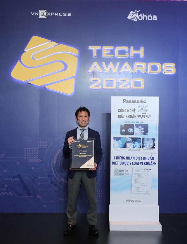 Panasonic đạt danh hiệu Tủ lạnh có công nghệ diệt khuẩn hiệu quả nhất tại Tech Award do VNExpress bình chọn - Ảnh 1.