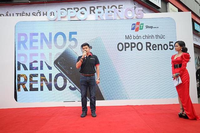 OPPO Reno5 mở ưu đãi hấp dẫn tại FPT Shop tri ân khách hàng Tết 2021 - Ảnh 2.