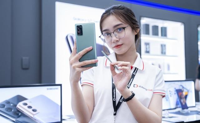 Samsung Galaxy Note 20, Note 20 Ultra giá chỉ còn 14,9 triệu - Ảnh 1.