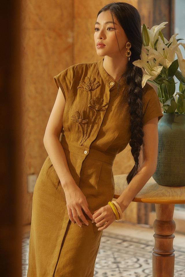 Bắt gặp mẹ con Á hậu Tú Anh và loạt sao Việt shopping trong triển lãm thời trang - Ảnh 6.