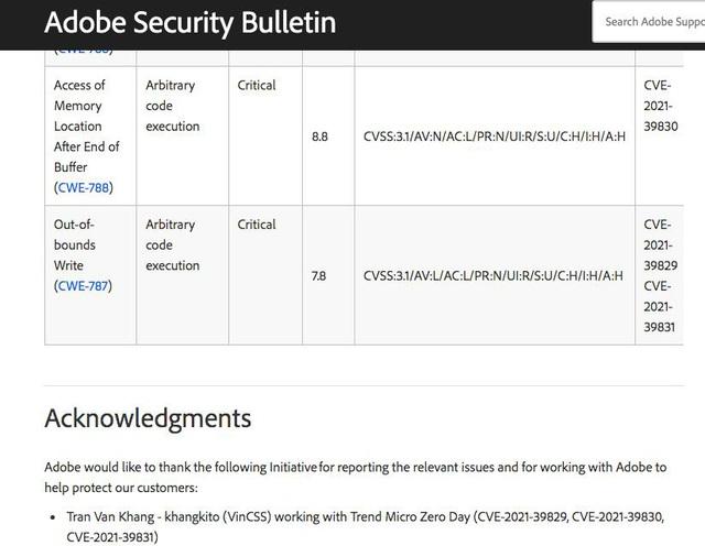 Chuyên gia Việt phát hiện 6 lỗ hổng bảo mật nghiêm trọng của Microsoft, Adobe - Ảnh 2.