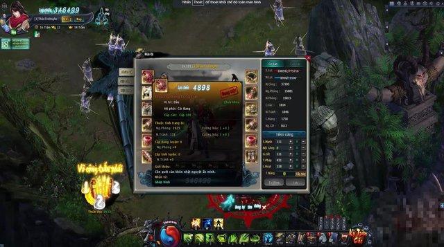 Trang bị Hoàng Kim Cái Bang của webgame Võ Lâm Truyền Kỳ VNG