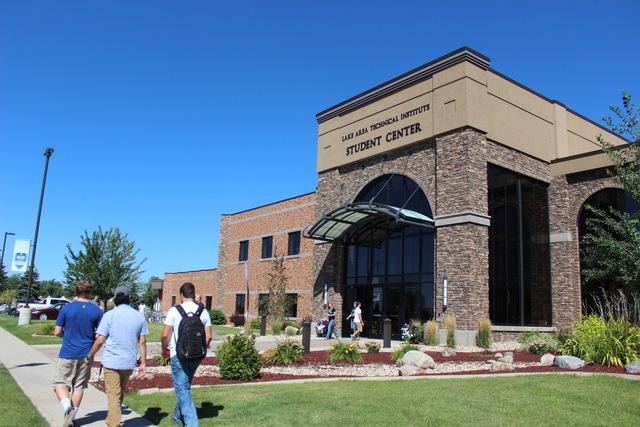 Trung tâm sinh viên tại Lake Area Technical Institute, tiểu bang South Dakota