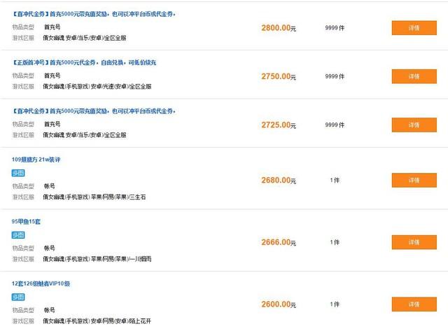 Khu vực buôn mua bán, trao đổi đồ của Thiện Nữ Mobile bên Trung Quốc vô cùng nhộn nhịp