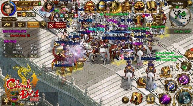 Đông đảo game thủ tham gia trải nghiệm game