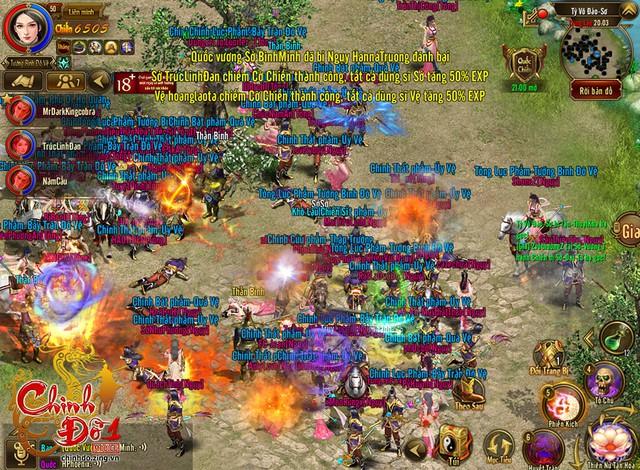 Tỷ võ đảo – một hoạt động trong game được người chơi rất hứng thú