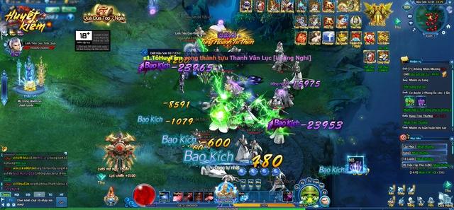 10h00 ngày 7/7 – Huyết Kiếm ra mắt, bước vào cuộc chiến ở thị trường game Việt