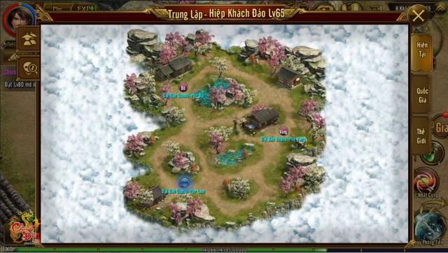 Hiệp Khách Đảo chiến trường cho game thủ Chinh Đồ 1 Mobile