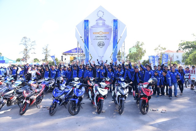 Loạt sự kiện kỷ niệm 1.000.000 Exciter diện kiến dân chơi xe Phan Thiết và Thái Bình - Ảnh 2.