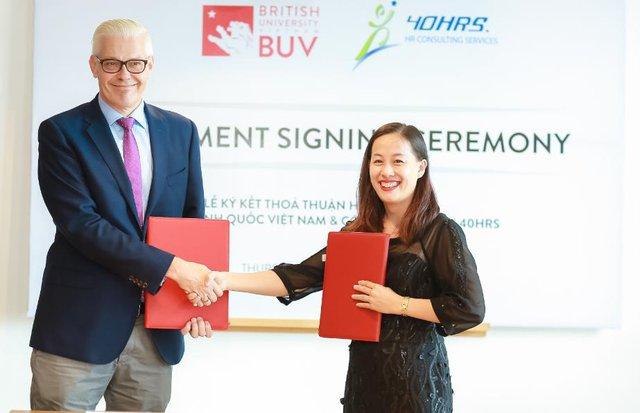 40HRS JSC đồng hành cùng Đại học Anh Quốc Việt Nam trong công tác tuyển sinh - Ảnh 2.