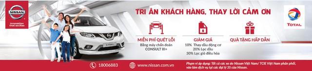 Nissan ưu đãi lớn tri ân khách hàng - Ảnh 1.