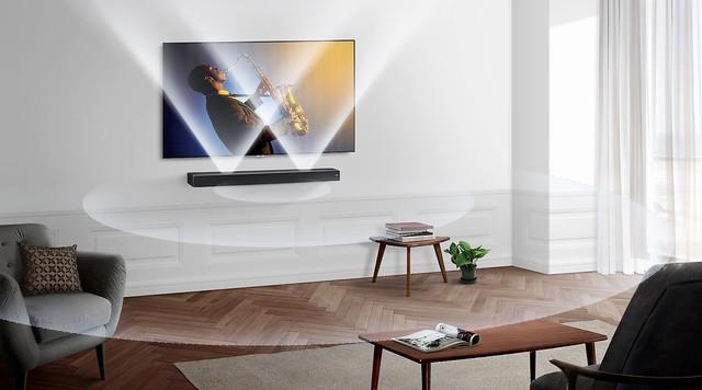 Không chỉ là chiếc loa đầy thẩm mỹ, Sound+ MS750 còn là tinh hoa của công nghệ âm thanh đến từ Samsung