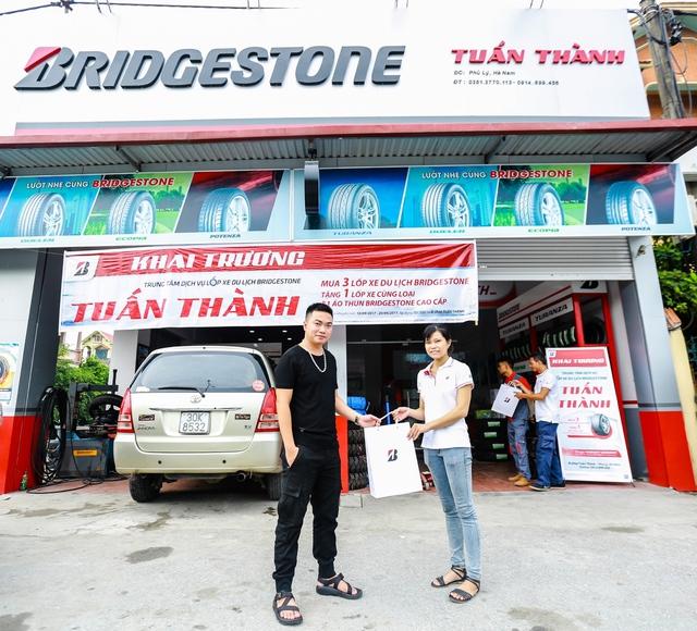 Bridgestone ưu đãi hấp dẫn mừng khai trương B-shop Tuấn Thành - Ảnh 2.