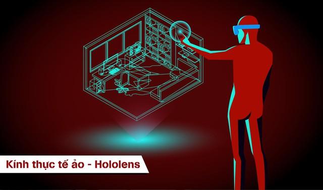 Hololens giúp khách hàng trải nghiệm căn hộ của mình như thật